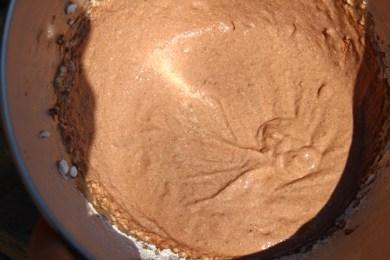 Schokocreme aus Seidentofu, kalorienarm, vegan, proteinreich