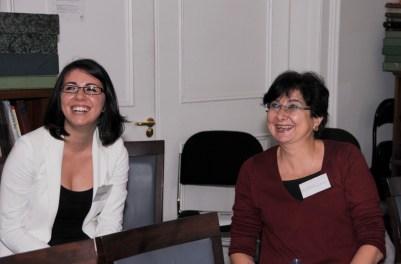 Henghameh Saroukhani and Sahar Hamouda