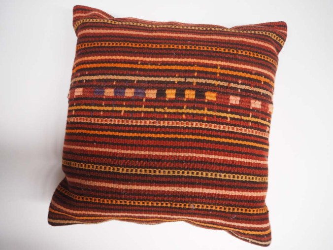 Antique Wool Kilim Cushion