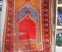 Fine Antique Kirsehir prayer rug