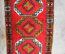 Hand made double knotted Turkish wool carpet from Nigde