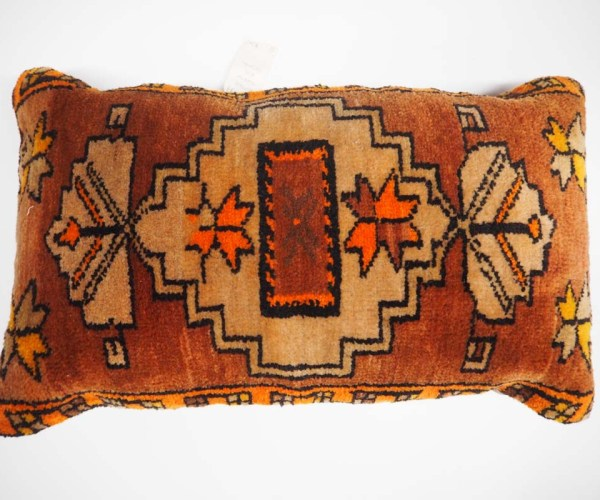 Antique Turkish Rug Cushion