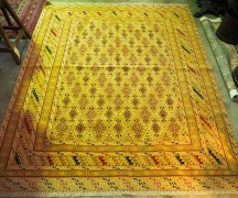 Hand knotted Soumac & Pile carpet from Herat - Mushwani -