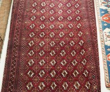 A wool on wool carpet Tekke (Tribe) Turkoman. Approximately 10 - 20 years old