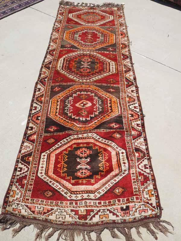 Antique Double knotted Kurdish Rug, Turkish-Malatya Shayak Tribe. C.1900