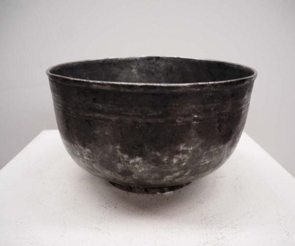 Ottoman Period Tinned Copper Bowl