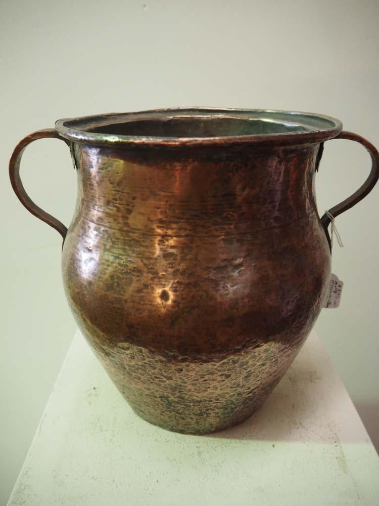 Antique Ottoman Copper Vessel Metal Homewares
