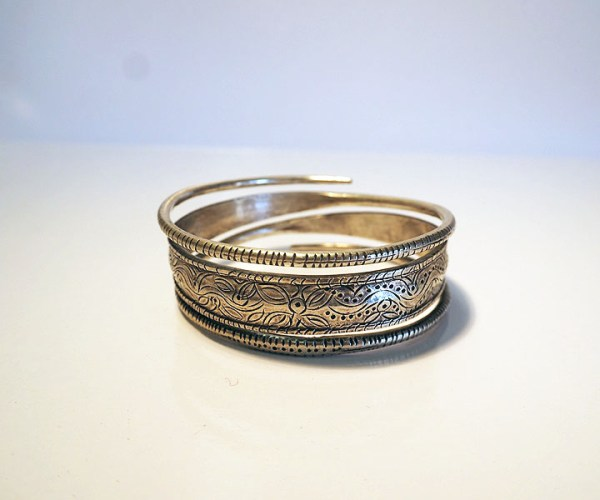 Silver bangle Hmong tribe Laos