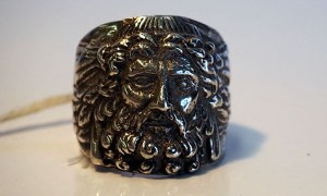"""Zeus"" Fine sterling silver ring"