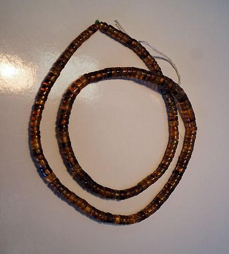Burmese amber bead Necklace