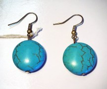 Turkoman Turquoise earrings