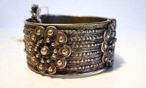 Turkoman silver bracelet