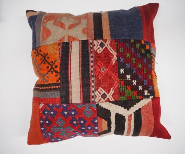 Ottoman Antique Kilim patchwork Cushion