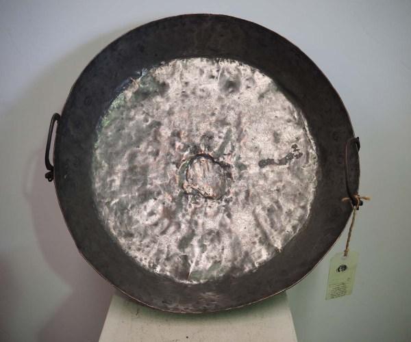 Antique Metal homewares Fabulous Ottoman period hand made copper bowl