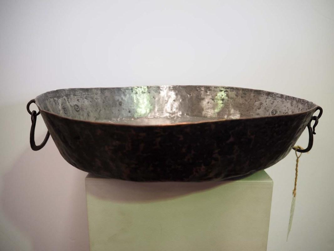 Fabulous Ottoman period hand made copper bowl