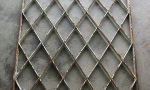 Antique 19th Century Ottoman Wrought iron grille