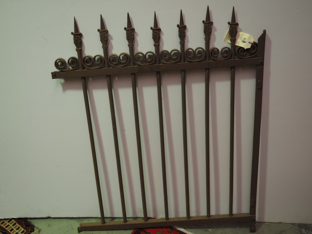 Antique French Cast & wrought iron fencing