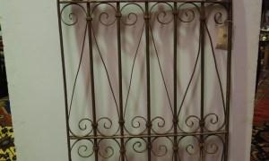 Antique Ottoman period wrought iron grille, 19th Century