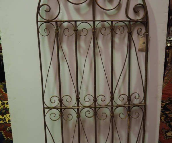 Antique Ottoman period wrought iron grille, 19th Century