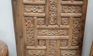 Ottoman period carved door