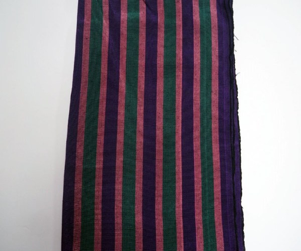 Hand loomed silk scarf from Southern Turkey