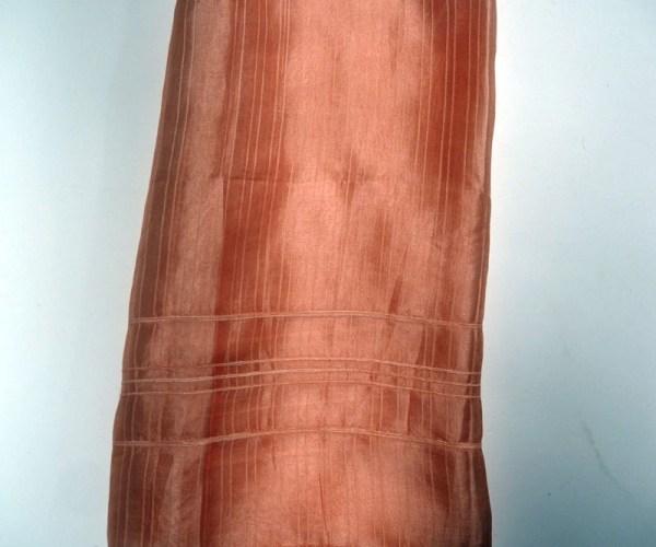 Hand loomed Turkish silk scarf