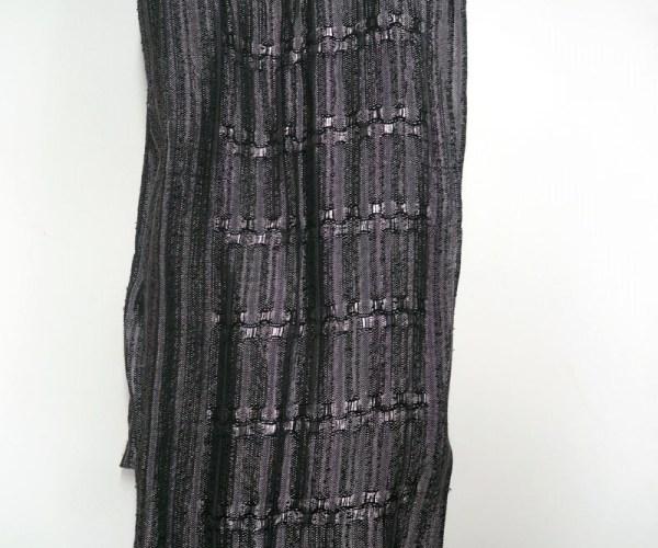 Silk linen Jacquard scarf