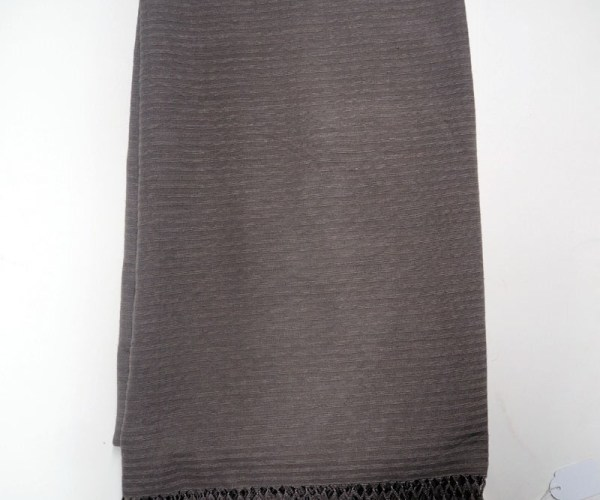 Very fine hand loomed organic Turkish Silk scarf