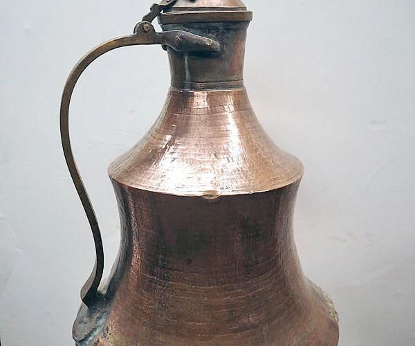 Ottoman period 19th century Armenian copper coffee pot