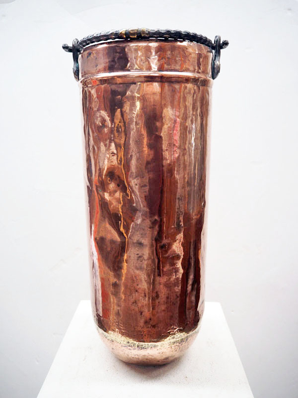Ottoman period Copper ice-cream bucket c.1900