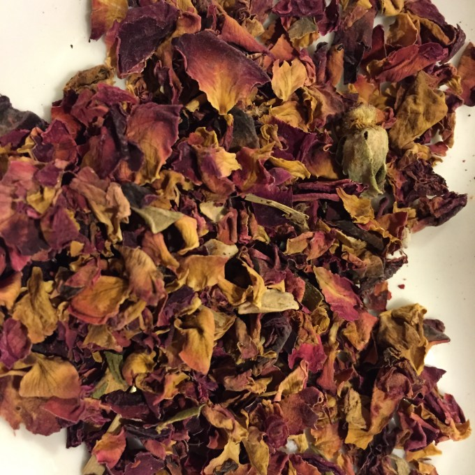 Herbal Rose Petel Pink Loose Leaf Tea
