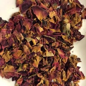 Otto's Granary Herbal Rose Petel Pink Loose Leaf Tea
