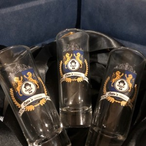 Otto's Granary Crest Tall Shot Glass WTG