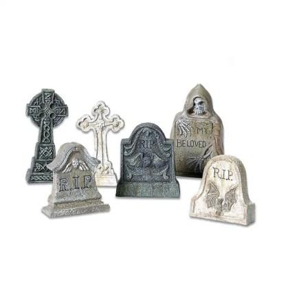 Otto's Granary Village Tombstones Set of 6 - Village Accessories