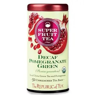 Otto's Granary Organic Decaf Pomegranate Green Superfruit Tea by The Republic of Tea