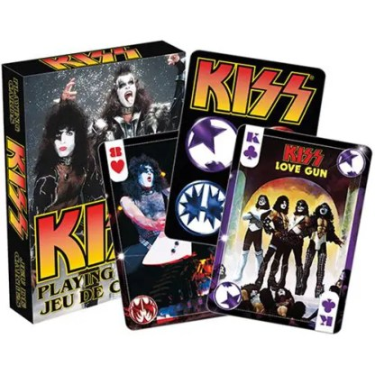 KISS Photo Playing Cards - AQ52356