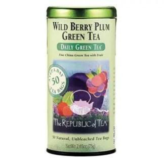 Otto's Granary Daily Green Wild Berry Plum Green Tea by The Republic of Tea