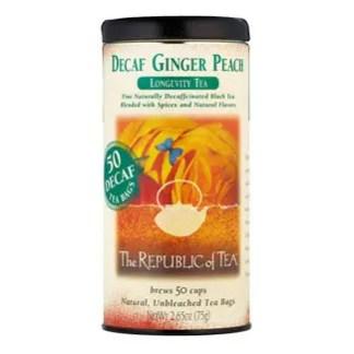 Otto's Granary Decaf Ginger Peach Black Tea by The Republic of Tea