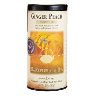 Otto's Granary Ginger Peach Black Tea by The Republic of Tea