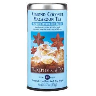 Otto's Granary Almond Coconut Macaroon Red Tea by The Republic of Tea