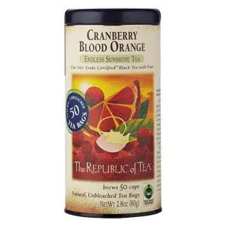 Otto's Granary Cranberry Blood Orange Black Tea Bags by The Republic of Tea