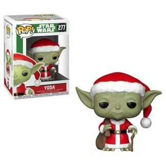 Otto's Granary Star Wars Holiday Santa Yoda #277 POP! Bobblehead