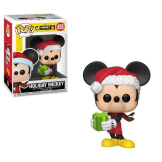 Otto's Granary Mickey's 90th Holiday Mickey #455 POP! Bobblehead