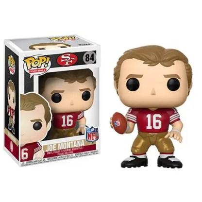 Otto's Granary NFL Legends Joe Montana 49ers Home #84 POP! Bobblehead