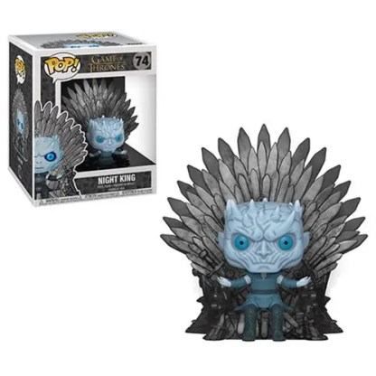 Otto's Granary Game of Thrones Night King Sitting on Throne Deluxe #74 POP! Bobblehead