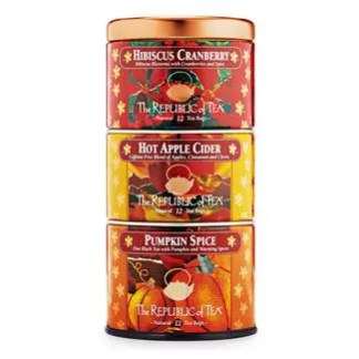 Otto's Granary Harvest Stackable Tea Tin by The Republic of Tea