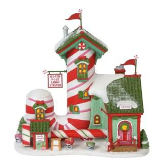 Otto's Granary North Pole Candy Striper - North Pole Series Village