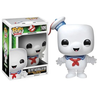 Ghostbusters Stay Puff Marshmallow Man #109 POP! Bobblehead