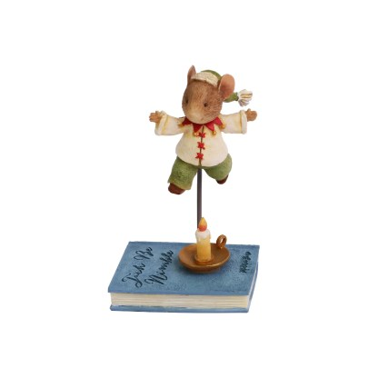 Jack Be Nimble Mouse Figurine - Tails with Heart Mother Goose Collection 6005744
