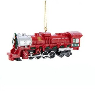 Lionel Christmas Train 1 1/4-Inch Resin Ornament